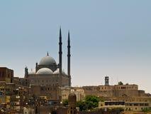 Islamitische Moskee in Egypte stock afbeelding
