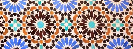 Islamitische mozaïek Marokkaanse stijl nuttig als achtergrond royalty-vrije stock afbeeldingen