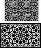 Islamitische patronen Royalty-vrije Stock Foto's
