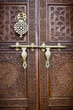 Islamitische stijldeur Royalty-vrije Stock Foto's