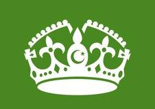 Islamitische theocratie en Islam als godsdienst van de staat royalty-vrije illustratie