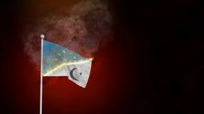 Islamization of Europe Illustration Royalty Free Stock Image