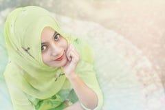 Islamkvinna Royaltyfri Fotografi