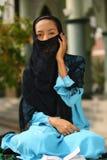 islamkvinna royaltyfria bilder
