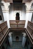 islammarrakech morocco skola arkivfoto