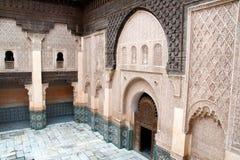 islammarrakech morocco skola royaltyfria bilder
