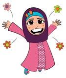 Islammeisje Royalty-vrije Stock Afbeeldingen