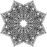 islammodell royaltyfri bild