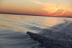 Islamorada Florida solnedgång II Royaltyfri Bild