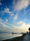 Islamorada sky. Over docl Royalty Free Stock Photos