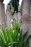 Islamscy headstones Zdjęcie Royalty Free