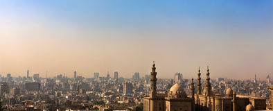 islamska Cairo linia horyzontu Zdjęcie Stock