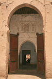 islamski archways rissani obraz royalty free
