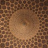 Islamski geometryczny wzór w meczecie Obrazy Stock