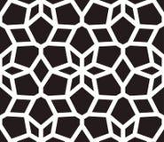Islamski inspirowany bezszwowy deseniowy wektor Zdjęcie Stock