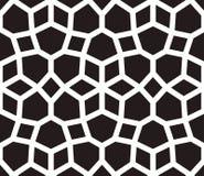 Islamski inspirowany bezszwowy deseniowy wektor Obraz Stock