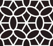 Islamski inspirowany bezszwowy deseniowy wektor Zdjęcie Royalty Free
