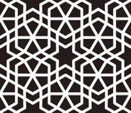 Islamski inspirowany bezszwowy deseniowy wektor Obrazy Stock