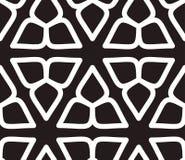 Islamski inspirowany bezszwowy deseniowy wektor Obrazy Royalty Free