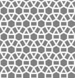 Islamski inspirowany bezszwowy wzór Obraz Stock