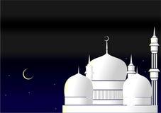 Islamski kartka z pozdrowieniami Zdjęcia Royalty Free