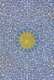 Islamski motywu projekt Na suficie meczet Obrazy Stock