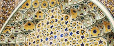 Islamski motywu tło Obrazy Royalty Free