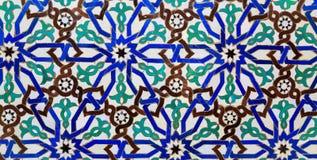Islamski mozaika marokańczyka styl pożytecznie jako tło Zdjęcia Stock