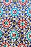 Islamski mozaika marokańczyka styl pożytecznie jako tło Fotografia Royalty Free
