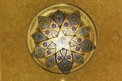 Islamski projekta wzoru światło Obrazy Royalty Free