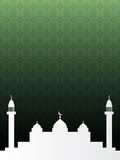 islamski tło Zdjęcia Royalty Free