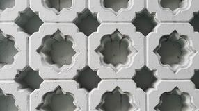Islamski wzór na rzeźbiących blokach Obraz Royalty Free