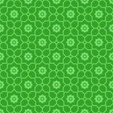Islamskich kształtów bezszwowy wzór Zdjęcia Stock