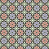 Islamskich kształtów bezszwowy wzór Fotografia Stock