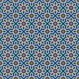 Islamskich kształtów bezszwowy wzór Obrazy Royalty Free