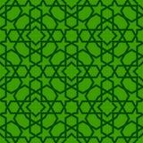Islamskich kształtów bezszwowy wzór Zdjęcia Royalty Free
