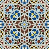 Islamskich kształtów bezszwowy wzór Zdjęcie Royalty Free