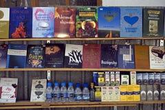 Islamskie książki, Pristina, Kosowo zdjęcia royalty free