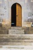 Islamskiej stylowej połówki otwarty drzwi Obraz Royalty Free