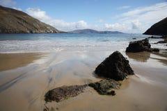 islan achill的海滩 库存照片