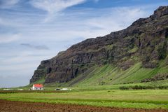 Islandés lejos Fotos de archivo libres de regalías