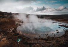 Island är det bästa stället arkivbild