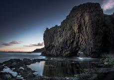 Island östlig region Arkivfoton