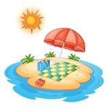 Island vector illustration