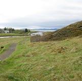 Island royaltyfri fotografi