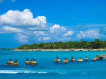 Island. Caribbean Islands and old Panton Royalty Free Stock Photography