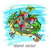 Island3 Στοκ Εικόνες