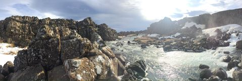 Island 2016 Stockbild