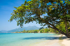 Island. Photo of beach on island in Thailand, Ko Chang Royalty Free Stock Photography