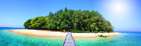 The tropical island Royalty Free Stock Images